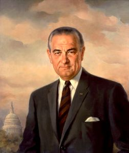Portrait of President Johnson