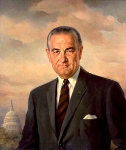 Portrait of President Johnson