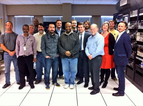 The AAPB digitization team at Crawford Media Services